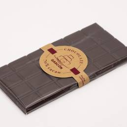 Tableta de chocolate negro 70% 100 gramos