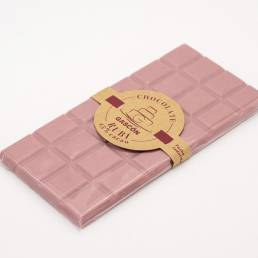 Tableta de chocolate Ruby 100 gramos